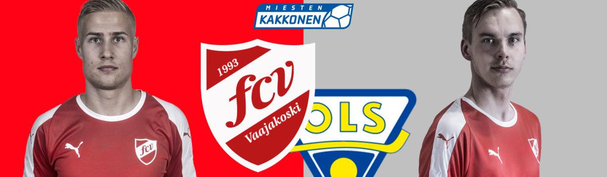Otteluennakko: FCV — OLS la 17.8. klo 17