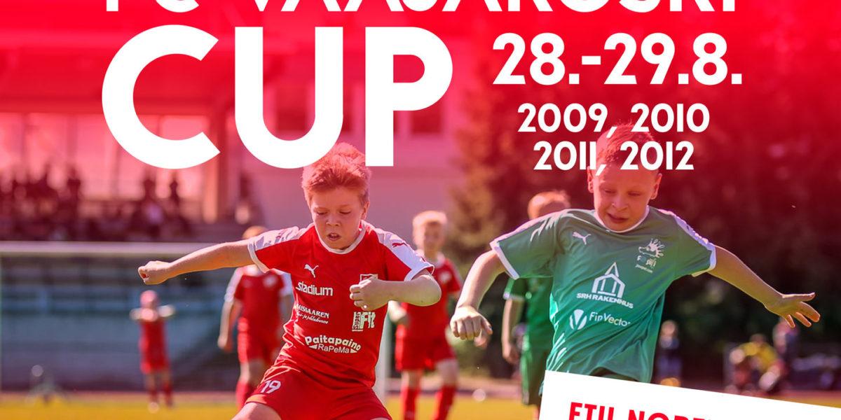 FC Vaajakoski Cup-turnaus lähestyy