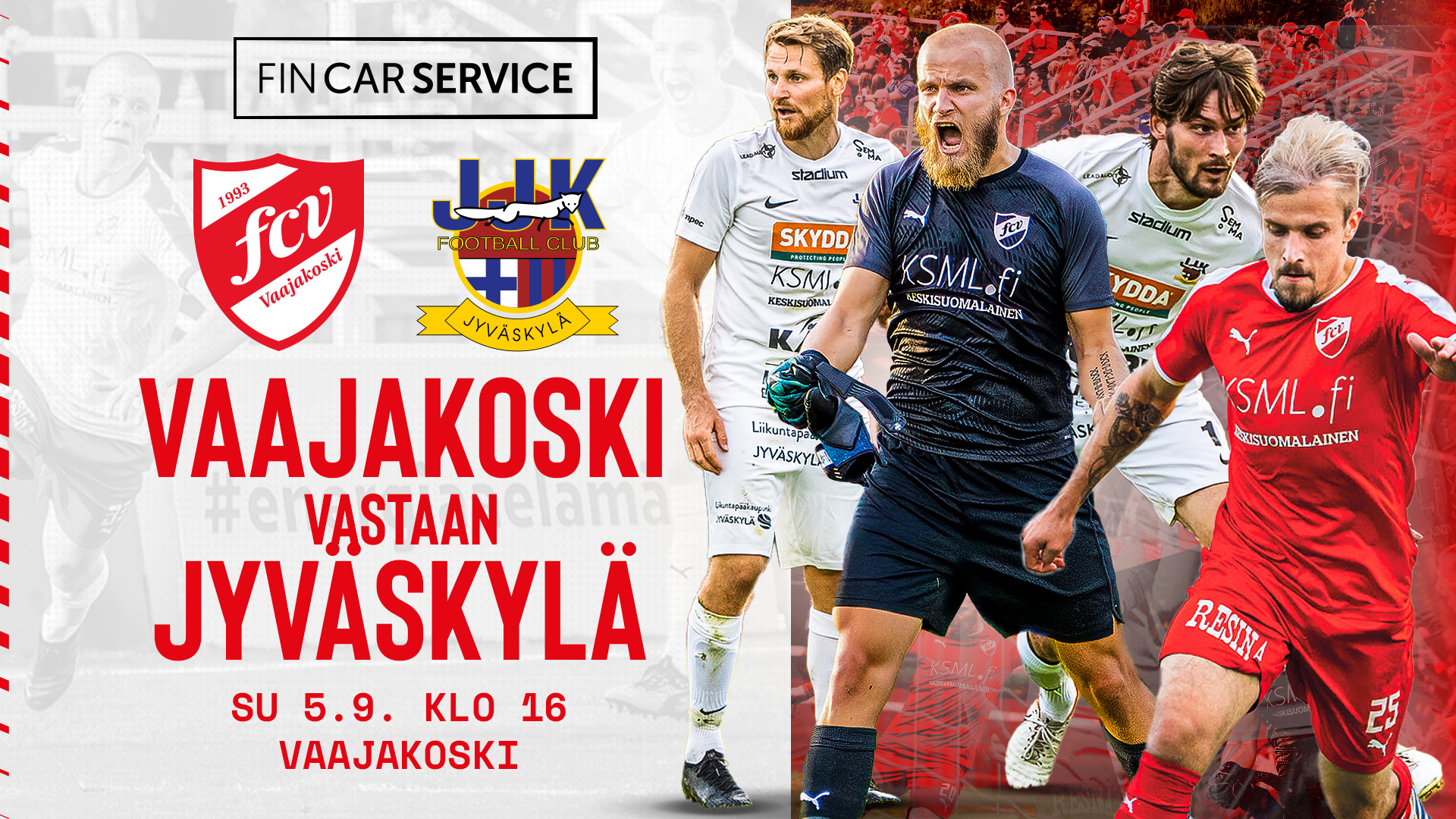FC Vaajakoski - JJK su 5.9.2021