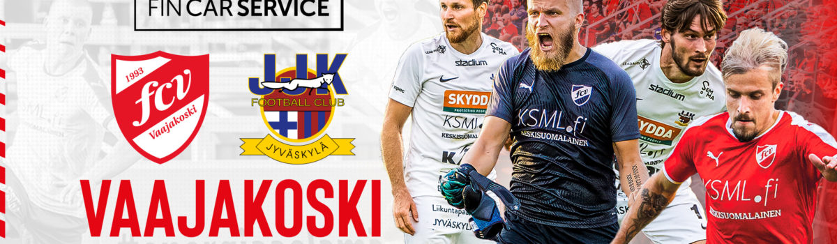 FC Vaajakoski vs JJK su 5.9. klo 16