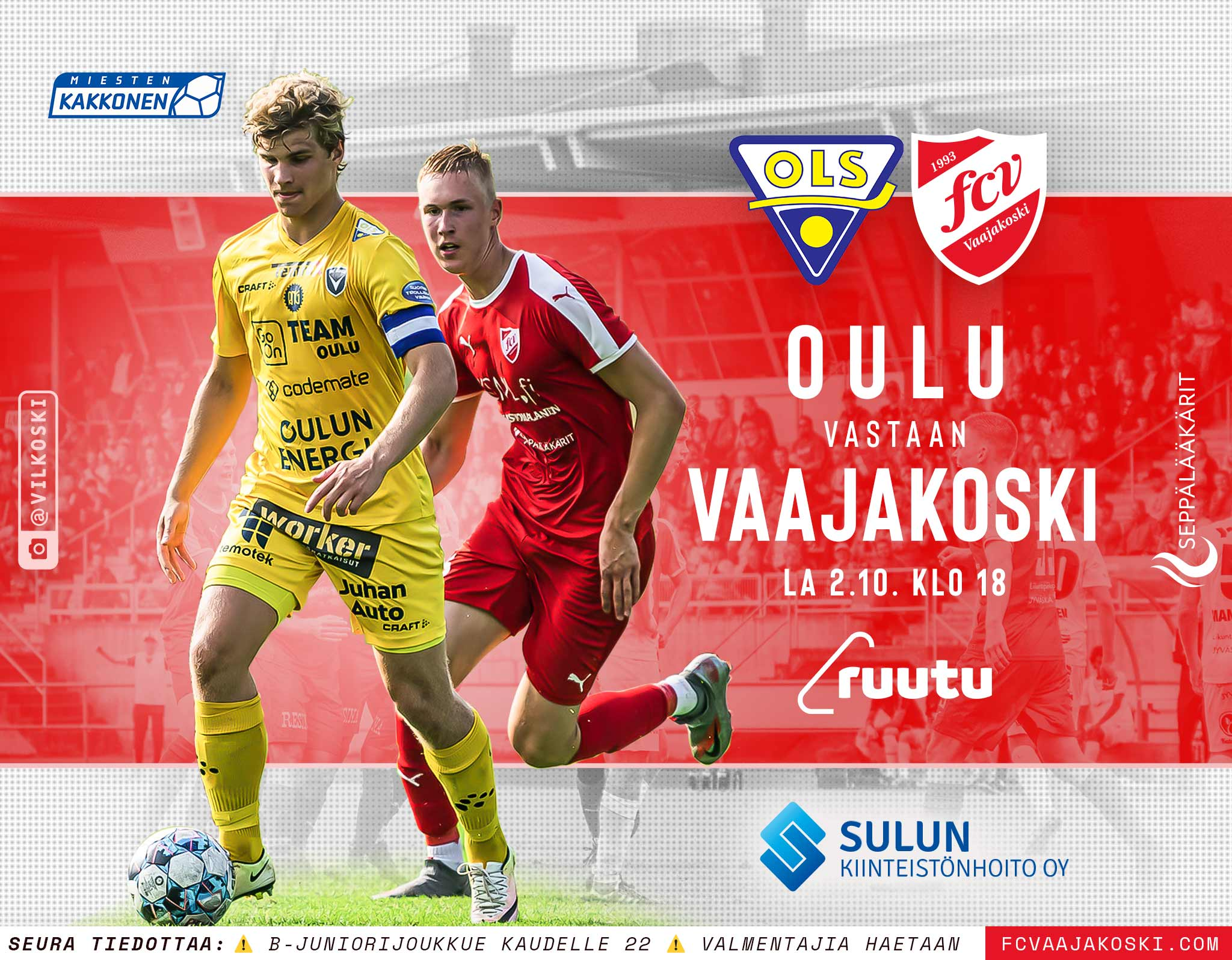 OLS v FC Vaajakoski